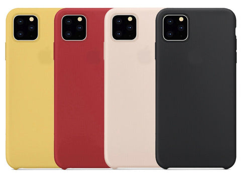 TVS Luxury Silicone Case for iPhone 11/11 Pro/11 Max