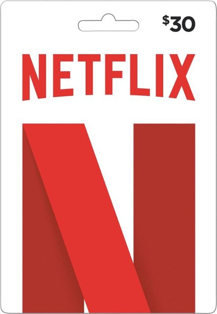 Netflix Gift Card - $30 - Email delivery