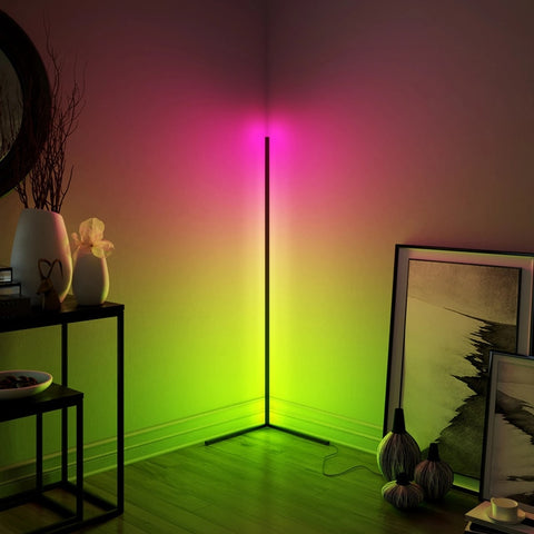 Nordic Design RGB Corner Floor Gaming Ambient Lamp