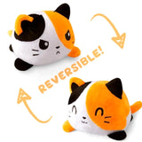 Reversible Cat Plush Toy