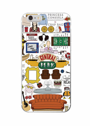 Friends TV Show  Phone Case Cover  For iPhone & Samsung