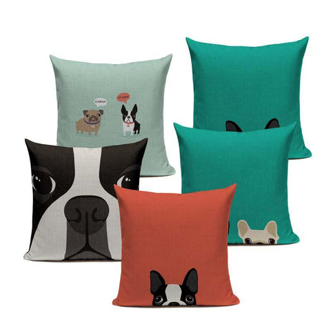 Frenchie™ Boston Terrier pillow