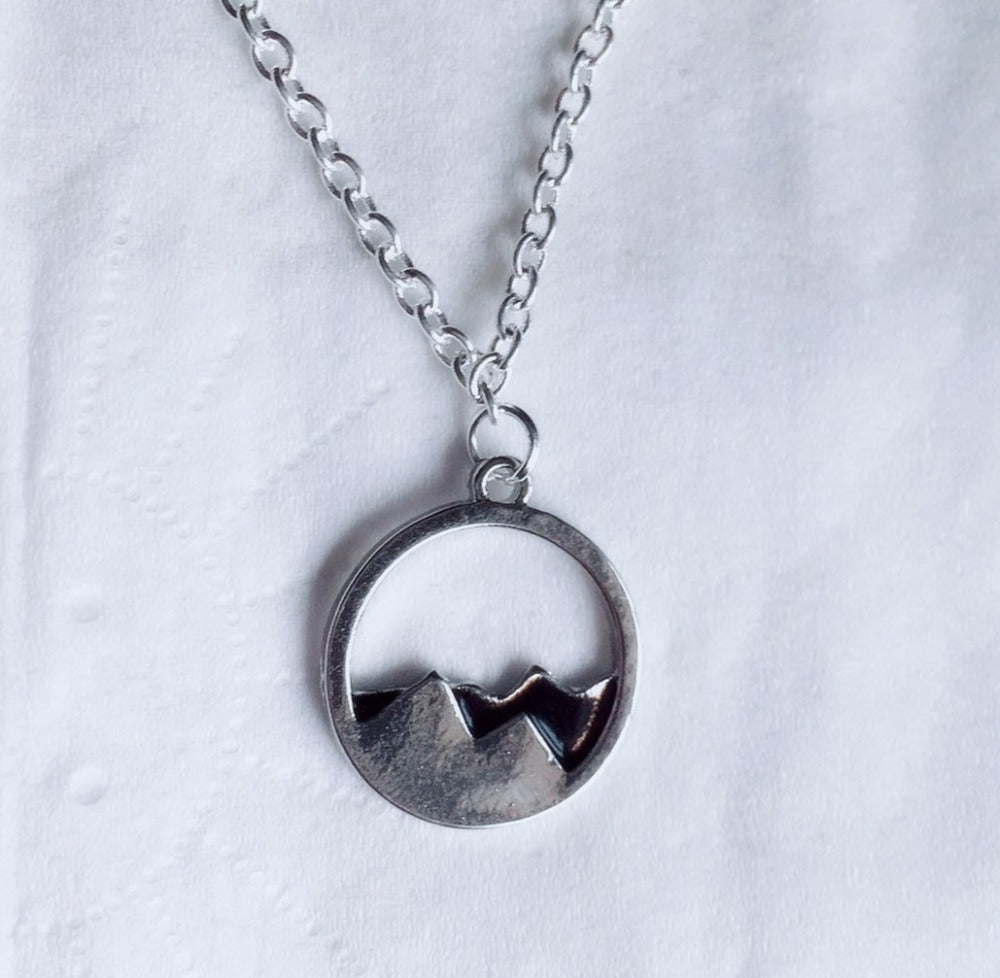 Dainty Mountain Range Necklace