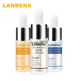 LANBENA Vitamin C Serum+Six Peptides Serum 24K Gold+Hyaluronic Acid Serum