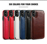 KISSCASE Retro PU Leather Case For iPhone
