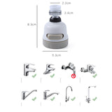 Rotatable Water Faucet Booster