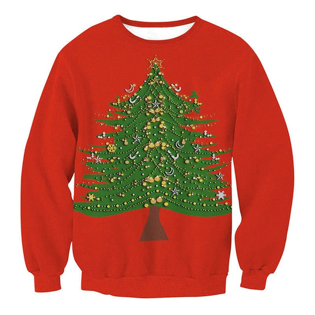 Ugly Christmas Sweater for Men and Women