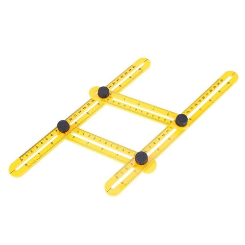 Multi Angle Template Measuring Tool