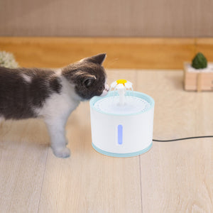 2.4L Cat Water Fountain With Led