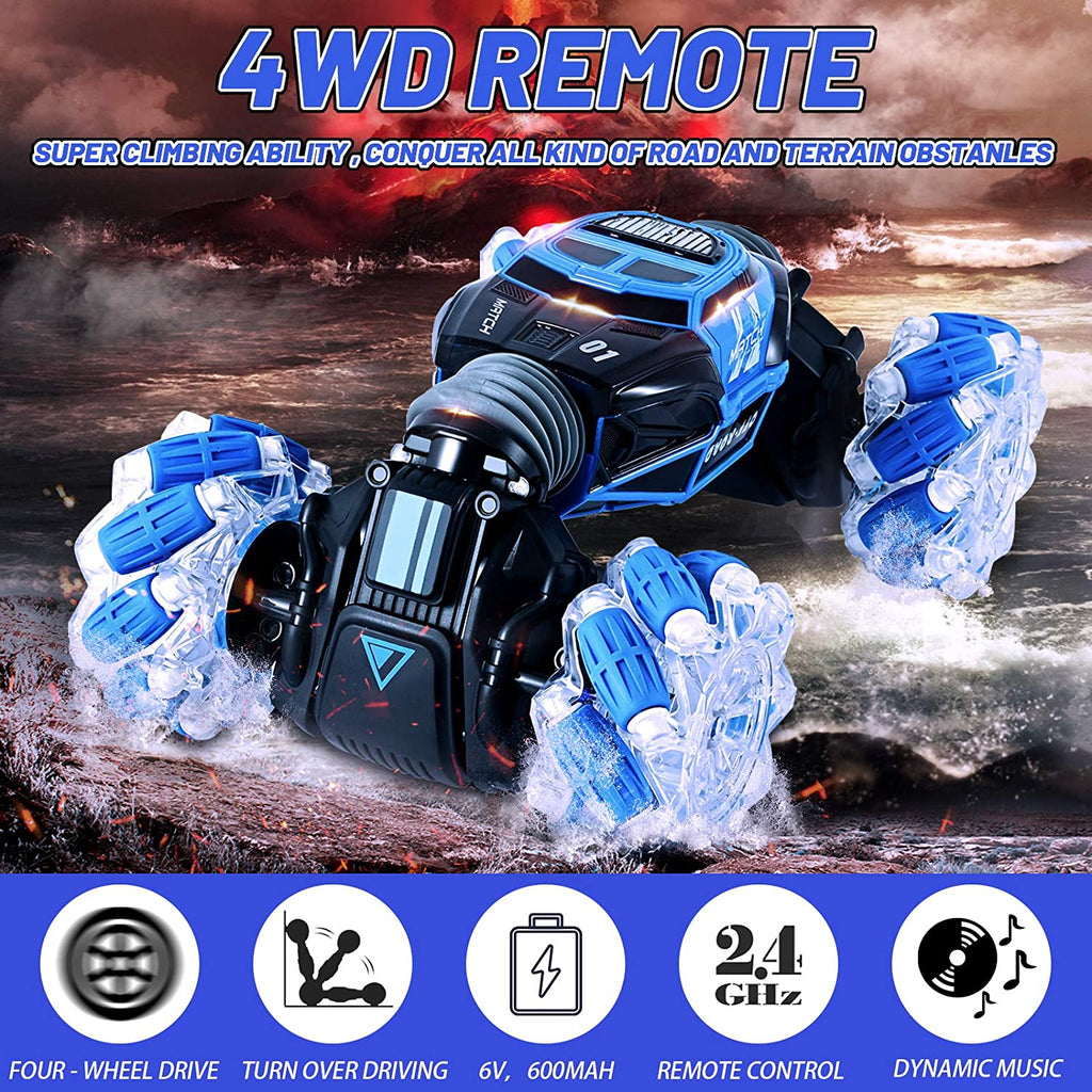 Electric Remote Control Off-Road Car Gesture Sensing 360° 4WD 1:18 RC Stunt Car
