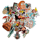 35 Pcs Rick and Morty Funny Stickers