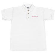 Sticks and Sponges Embroidered Polo Shirt