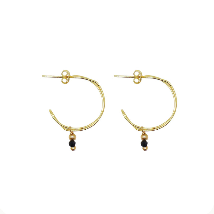Wired Hoops - Gold