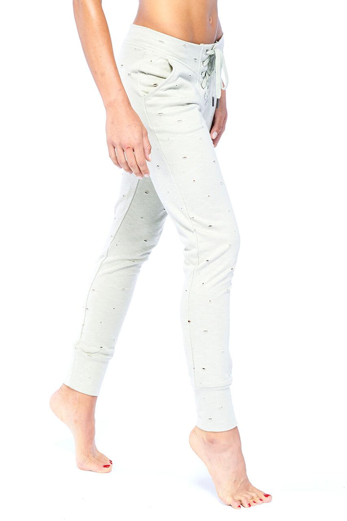 Distressed Jogger | Blend in Zen