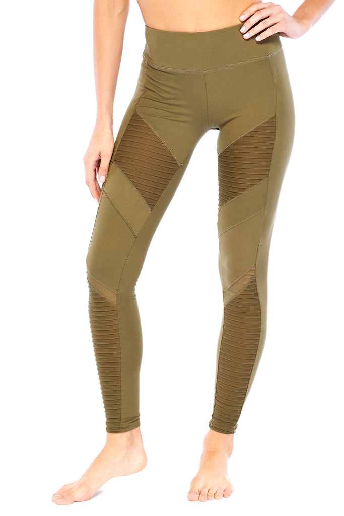 Wanted Army Green Legging | Blend in Zen