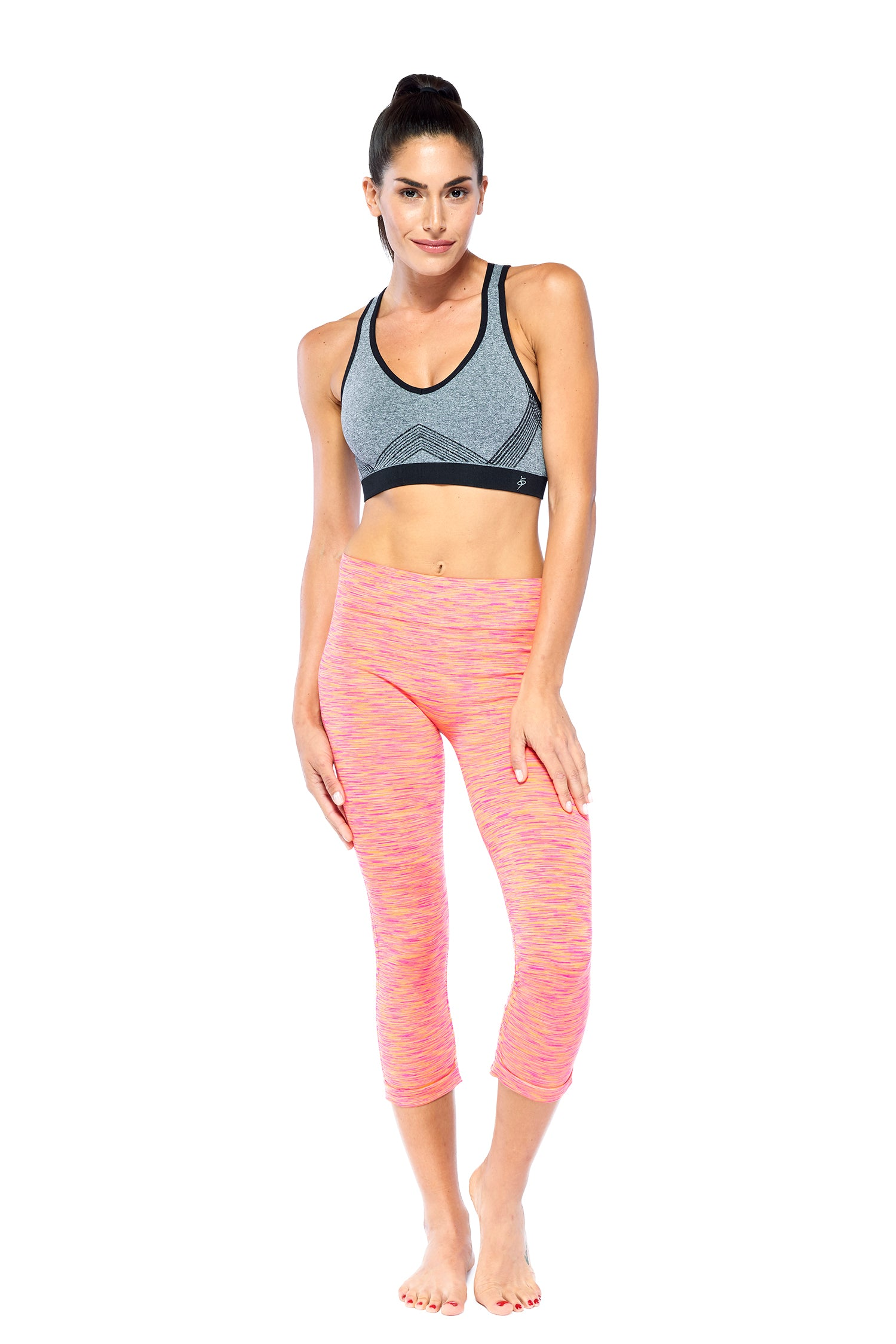 Stand Out Leggings - Hot Pink