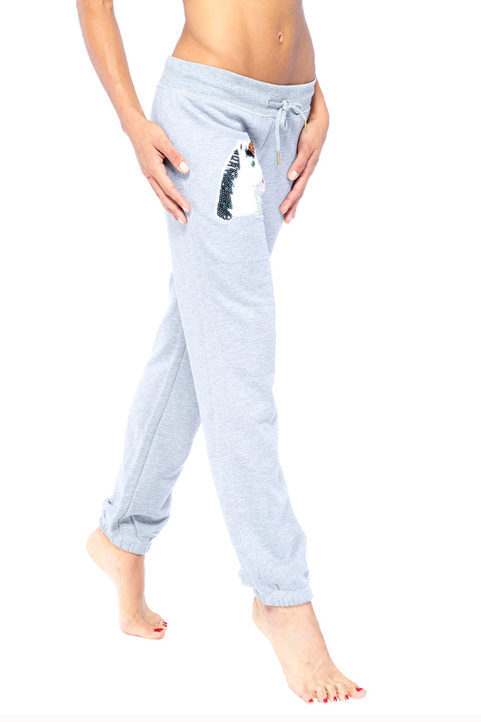 Heather Grey Uniqorn Luv Sweatpants | Blend in Zen