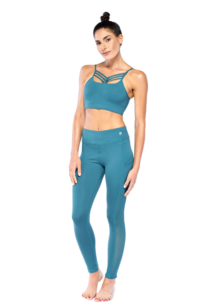 Teal Active Wear Set | Blend in Zen