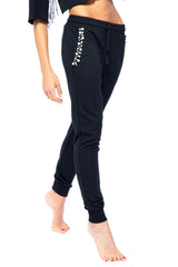 Black Pearlin' Lounge Wear Set | Blend in Zen