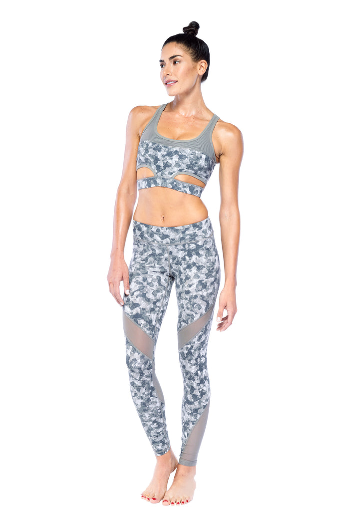 Military Print Active Wear Set | Blend in Zen
