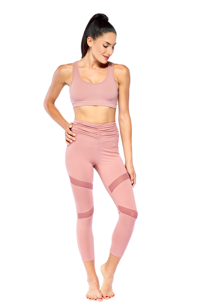 I'm Blushing Pink Active Wear Set | Blend in Zen