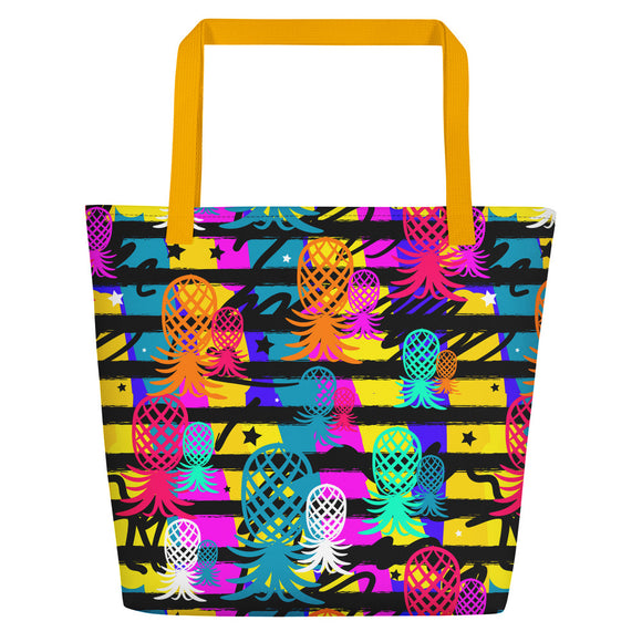 Pineapple Fields Beach Bag