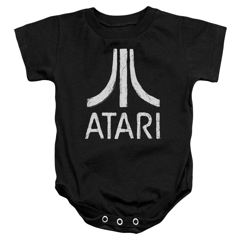 Atari - Rough Logo Infant Snapsuit - lil giggles baby supply