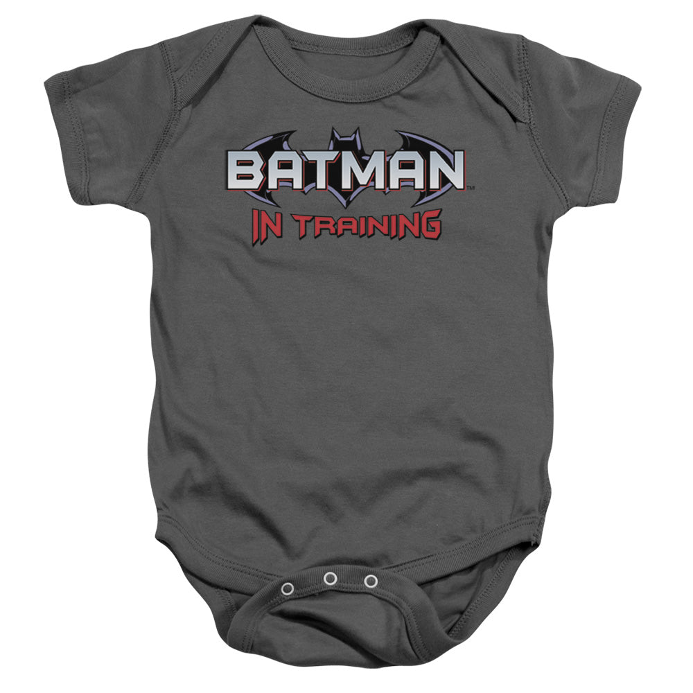 Batman In Training Infant Romper for 6 - 24 Months - lil giggles baby supply