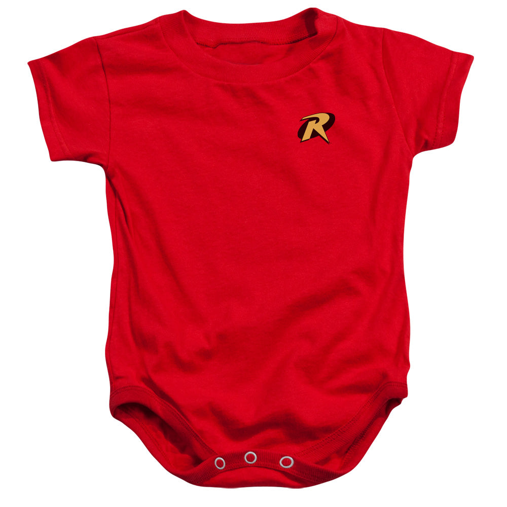 Batman - Robin Logo Infant Snapsuit - lil giggles baby supply