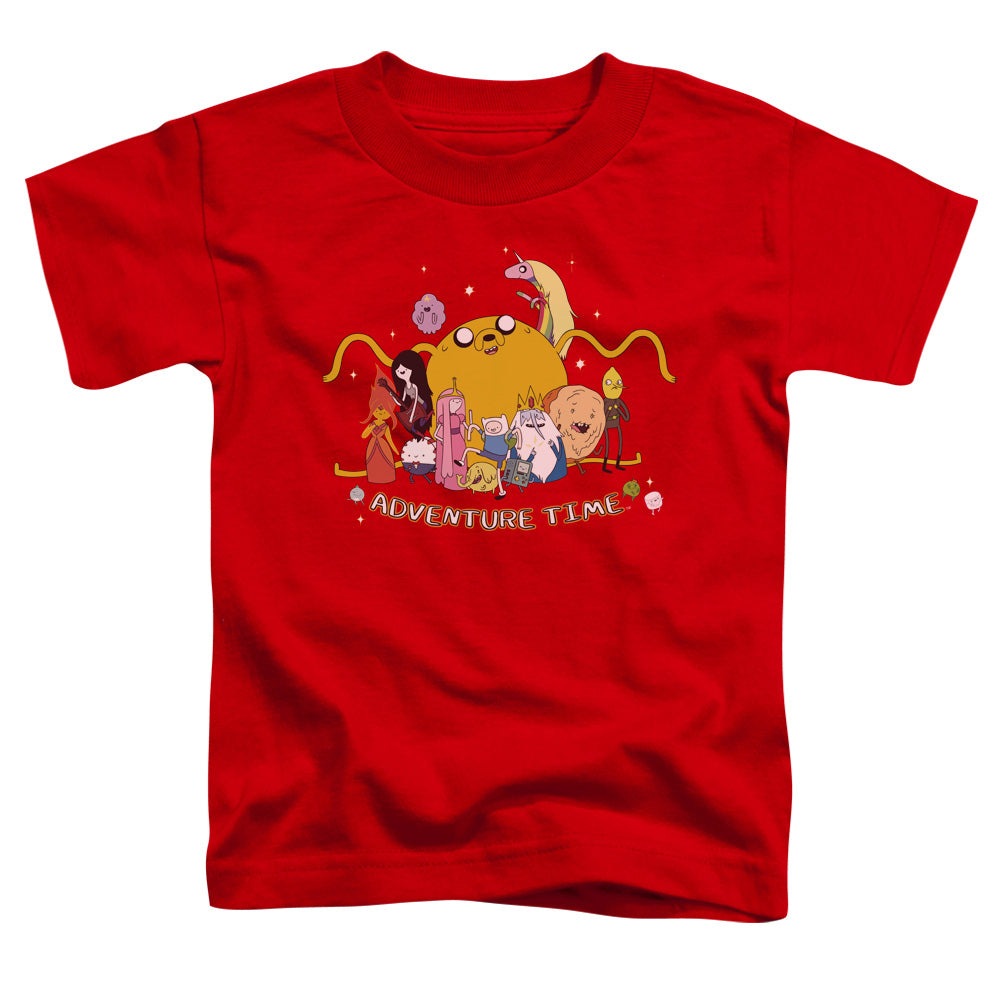 Adventure Time - Outstretched Short Sleeve Toddler Tee - lil giggles baby supply