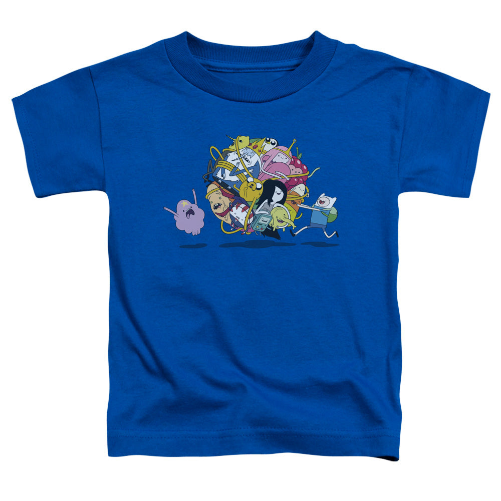 Adventure Time - Glob Ball Short Sleeve Toddler Tee - lil giggles baby supply