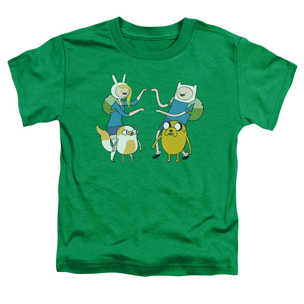 Adventure Time - Meet Up Short Sleeve Toddler Tee - lil giggles baby supply