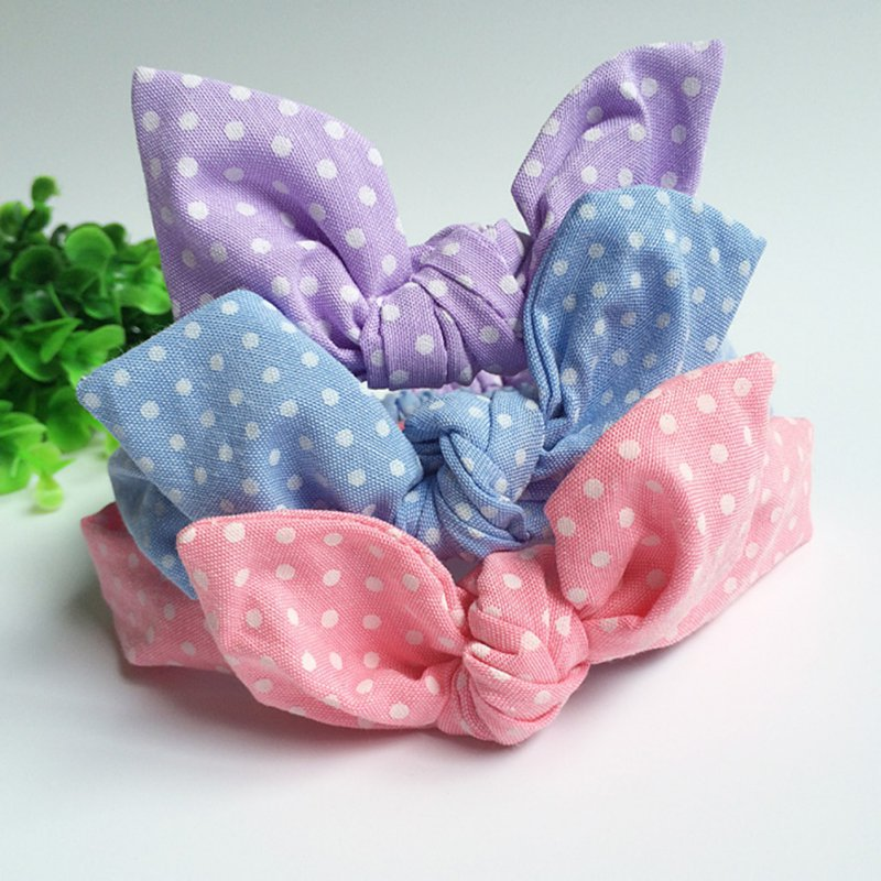 Soft Baby Bow Hairband - Multiple Styles - lil giggles baby supply