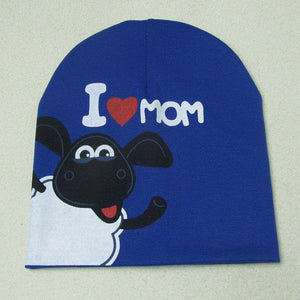 I Love Mama & I Love Papa Baby Beanies - lil giggles baby supply