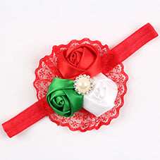 3 Rose Baby Bows - Multiple Styles - lil giggles baby supply