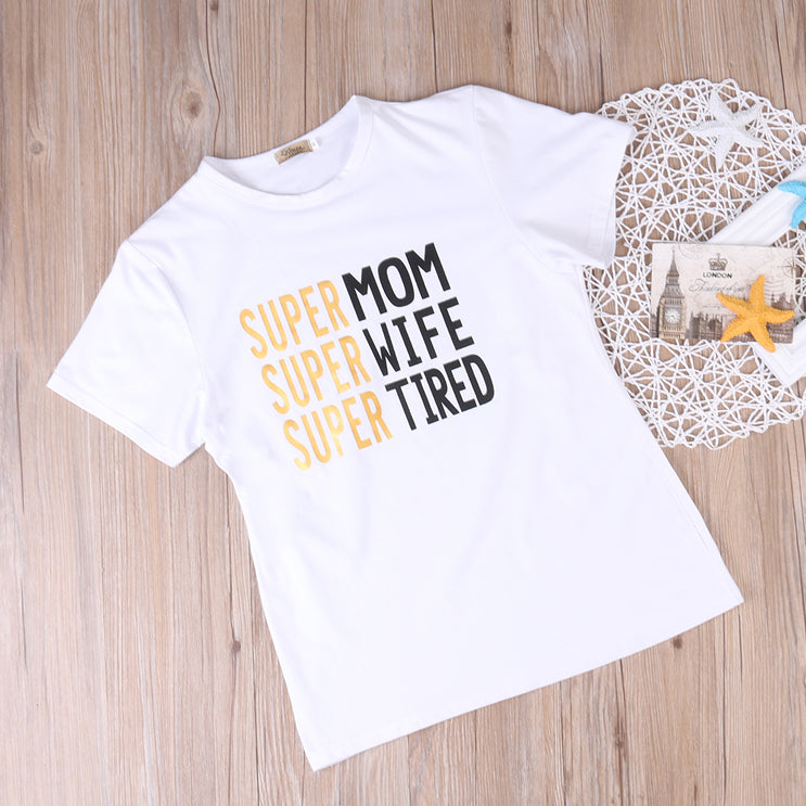 Super Family Matching T-Shirts - lil giggles baby supply