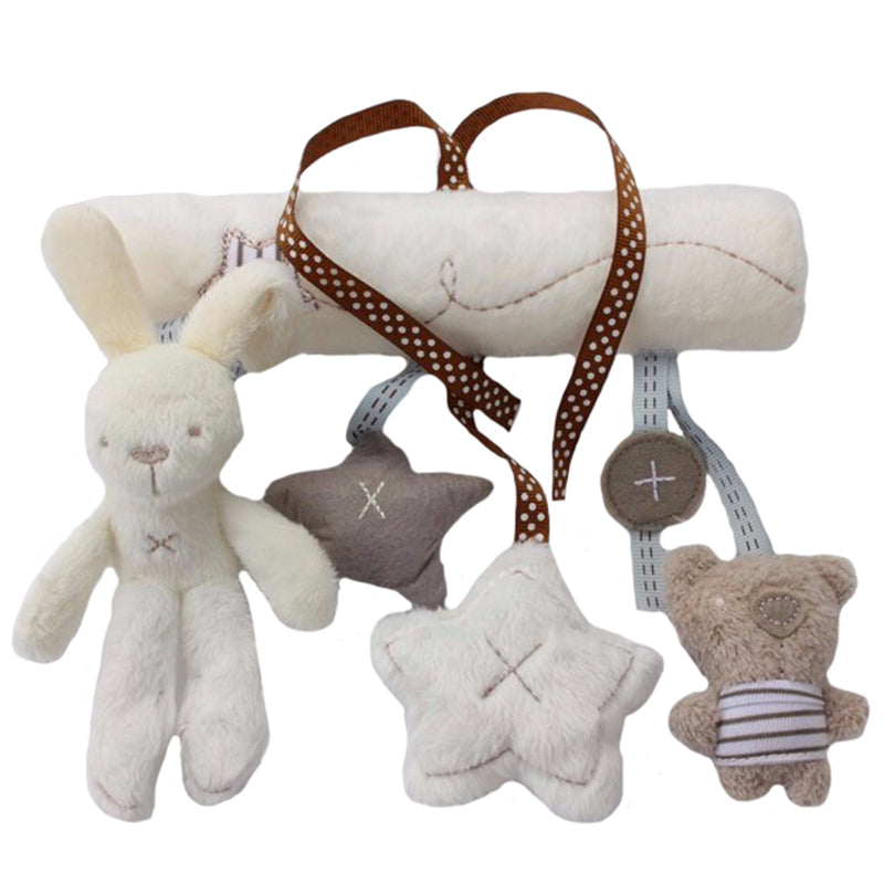 Plush Toy Baby Rabbit Stroller Toy Gifts - lil giggles baby supply