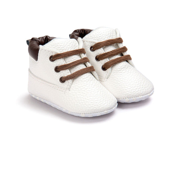 Soft Soled Baby Boots for 0 - 18 Months - lil giggles baby supply