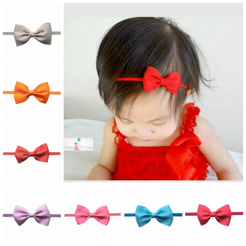 Mini Satin Bow for Newborns - 2.5inch - lil giggles baby supply
