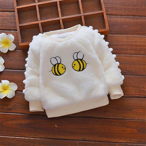 Bumble Bee Warm Sweater for 9M - 24M - lil giggles baby supply