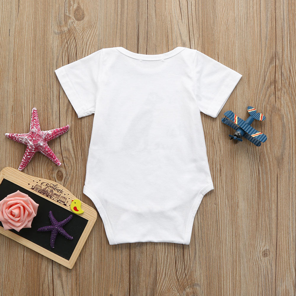 """My Sibling Has Paws"" Romper for 3 - 18 Months - lil giggles baby supply"