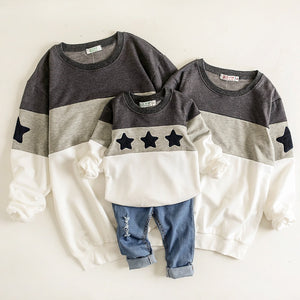Super Star Matching Family Sweaters - lil giggles baby supply