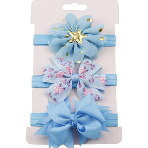 Headbands 3 Piece Baby Set fits 12M - 3T - lil giggles baby supply
