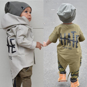 Hate In My State Punk Coat for 6M - 24M - lil giggles baby supply