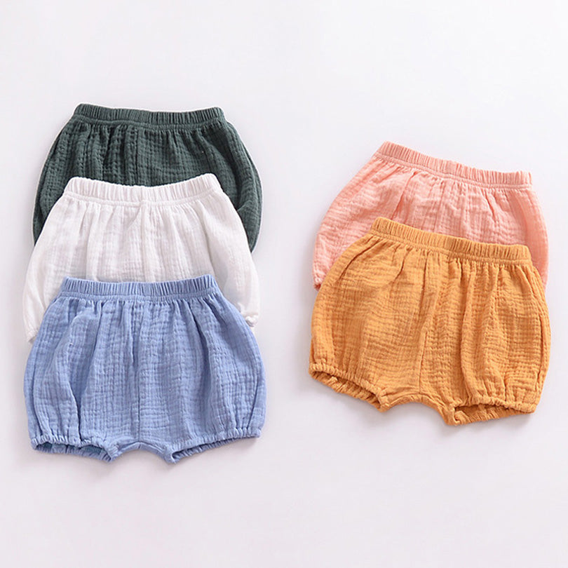 Soft Cotton Shorts for 6M - 4T - lil giggles baby supply