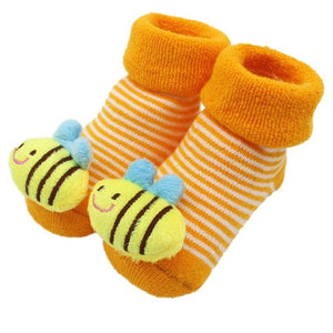 Unique Warm Character Cotton Baby Socks - lil giggles baby supply