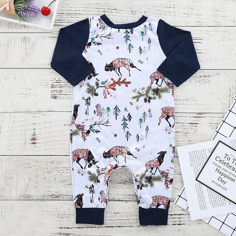 Fall Print Onesie for 6 - 18 Months - lil giggles baby supply