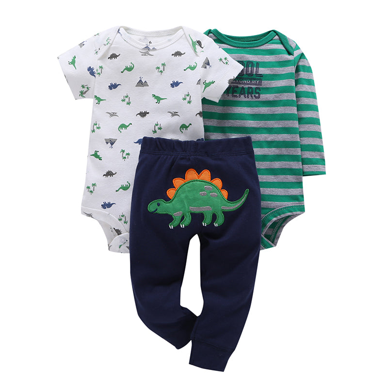Variety of Three Piece Outfit Sets for 6 - 24 Months - lil giggles baby supply
