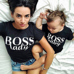Boss Lady & Boss Baby Matching Tee's - lil giggles baby supply
