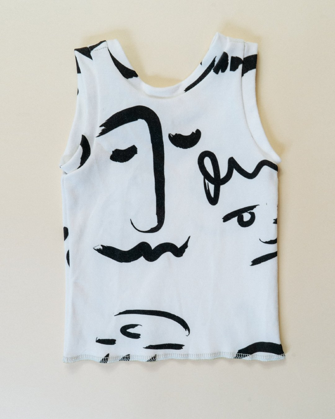 Little Faces Tank - Organic